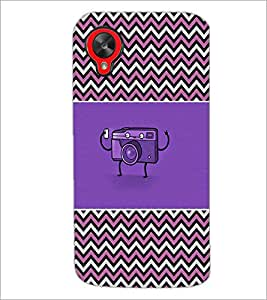 PrintDhaba Camera D-2612 Back Case Cover for LG GOOGLE NEXUS 5 (Multi-Coloured)