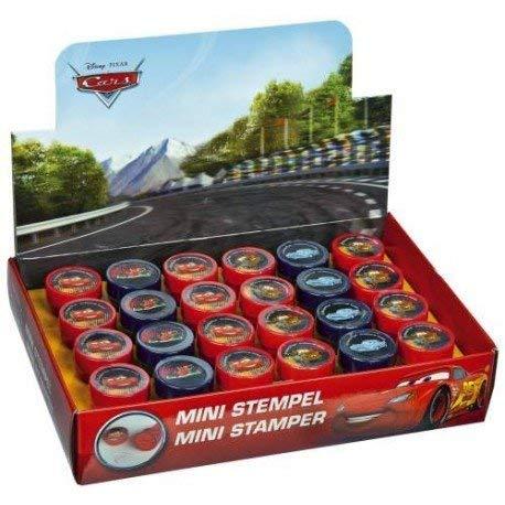 Disney Pixar Cars 2 Stempel Set - 6 STK. Stempel mit verschiedenen Motiven wie Mc Queen, Mater Martin Hook, Finn McMissile, Francesco Bernoulli (auch super zum Befüllen von Partytüten)