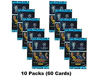 Champions League Adrenalyn XL 2014/2015 (10 Packs) 14/15 Packets