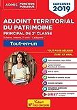 Concours Adjoint territorial du patrimoine - Catégorie C - Tout-en-un - Concours externe, interne et 3e voie - Concours 2019