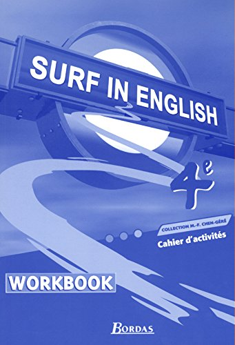 SURF IN ENGLISH 4E TP 2002