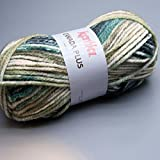 Katia Canada Plus 305 dusky green meliert 100g Wolle