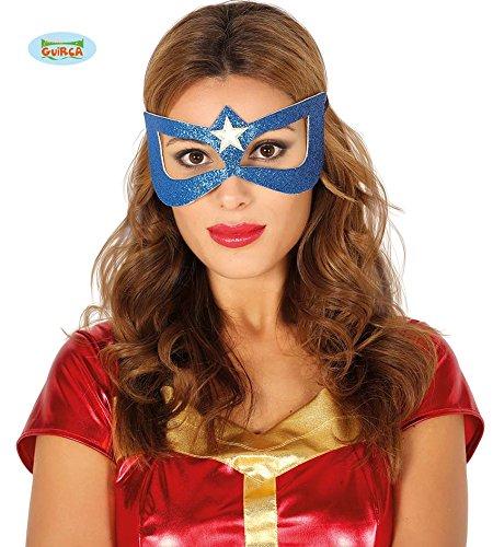 Guirca Hojas máscara, Hero heroína Wonder Woman, Color Azul, 12018