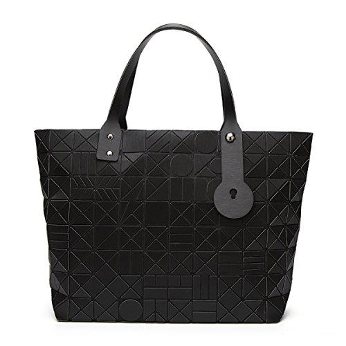 Handtasche Frauen Schultertasche Einkaufstasche Ling Laser Laser Bag Fashion Black