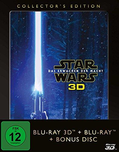 Bild von Star Wars - Das Erwachen der Macht [3D-Blu-ray] (+ 2D-Blu-ray + Bonus-Blu-ray) [Collector's Edition] mit 3D Hologramm-Bild