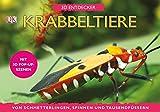 Krabbeltiere: Von Schmetterlingen, Spinnen und Tausendfüßern (3 D Entdecker)