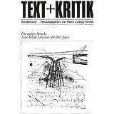 Die andere Sprache. Neue DDR-Literatur der 80er Jahre (TEXT+KRITIK Sonderband)