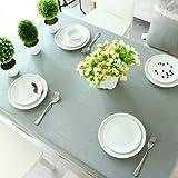 BLUELSS Tableau imprimé nappe en tissu de la table de Mariage Banquet Restaurant Accueil Table couvrant Coton chiffon Floral Table carrée,couleur 1,135x180cm