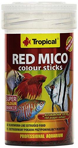 Tropical Red Mico Colour Sticks gefriergetrocknete Blutwürmer, 2er Pack (2 x 100 ml)