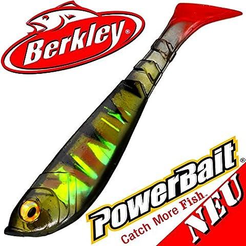 'Berkley Power Bait–Pulse Shad 4pesce di gomma 11cm Perch 2016/5pezzi, novità 2016