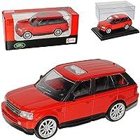 Modelauto silbern Rastar 1:43 Range Rover Sport