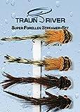 Traun River Fliegensortiment Super-Forellen Streamer SetInhalt 4