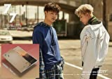 7th Album [GOLDEN hour B Ver.] 7 For 7 GOT7 CD + Official Poster + Cover + Photo book + Photo card + Lyrics book + Gift (4 Photo cards Set)