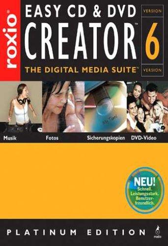 Easy CD & DVD Creator 6 (DVD-Verpackung)