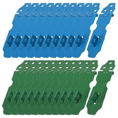 water-wood-23-set-home-cupboard-doors-blue-green-metal-latch-hasp-staple-random-color