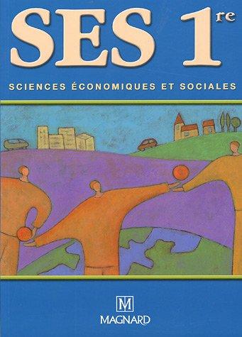 Sciences économiques et sociales 1e par Mireille Nivière, Collectif