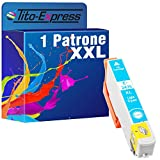 PlatinumSerie® 1x Patrone XXL TE2435 Light Cyan kompatibel zu Epson Expression Photo XP 55 XP 750 XP 760 XP 850 XP 860 XP 950 XP 960
