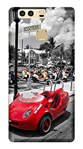 TrilMil Printed Designer Mobile Case Back Cover For Huawei P9 Plus