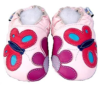 baby soft leather shoes, Jinwood, 0-6m