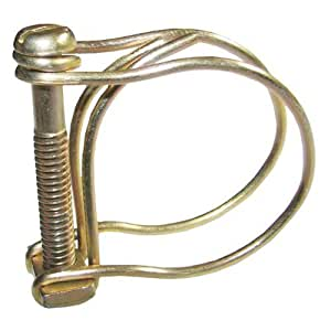 Double Wire Hose Clips to fit 12.5mm (0.5in) Pipe