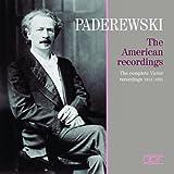 Ignacy Jan Paderewski Die amerikanischen Aufnahmen 1914-1931gs (1914-1931)
