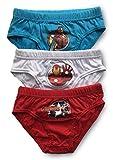 Jungen Unterhosen / Slips, Unterwäsche, Baumwolle - 3er-Pack (3 - 4 Years (98 - 104cm), Avengers)