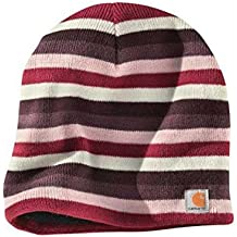 Carhartt Mujer Gorra Beanie - Light Orchid Casquillo Acrílico logotipo CHWA002LOR
