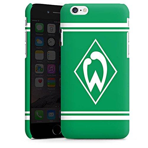 Apple iPhone X Silikon Hülle Case Schutzhülle Werder Bremen Fanartikel Fußball Premium Case matt