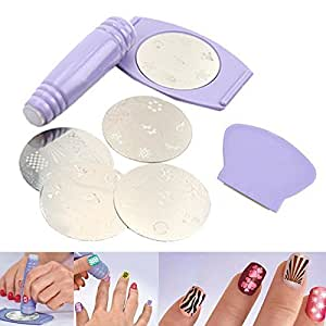 Buy Divinz Salon Nail Art Express Decals Stamp Stamping Polish