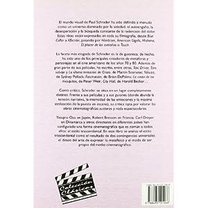 El estilo trascendental en el cine. Ozu,  Besson y Dreyer (Colección Clásicos)