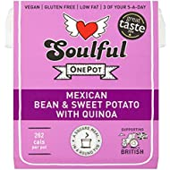Soulful OnePot Mexican Bean & Sweet Potato with Quinoa, 380g
