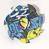 CRYSLE engranaje-tipo dedo Gyro Spinner Hand Fidget Gyro Durable Rueda Engranajes Fidget Toy Ultra-silencioso Estable Reductor de presion Focus alivia la ansiedad y aburrimiento Juguetes de ocio para ninos / adultos