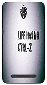 Meraki Silicone Soft Printed Back Cover For Panasonic P77
