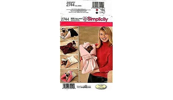 Simplicity Schnittmuster 2744 Hunde, Barett Motorhaube: Amazon.de ...