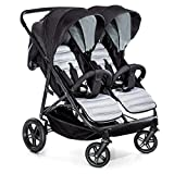 New Hauck Rapid 3R 1 Hand Fold Duo Twin Double Buggy Pushchair Pram