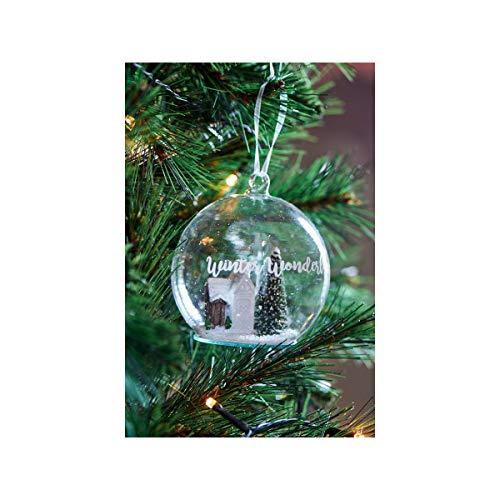ter Wonderland - Ornament - Glas - Ø 10cm ()