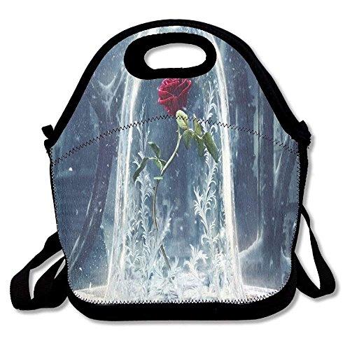 Beauty The Beast Portable Lunch Box Bag Insulated Waterproof School Storage  Handbag For Women ecbd10a10c884