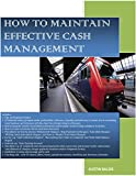 HOW TO MAINTAIN EFFECTIVE CASH MANAGEMENT (English Edition)