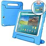 Cooper Cases(TM) Dynamo Samsung Galaxy Tab A 9.7 (SM-T550) Hülle für Kinder in Blau (Leicht, ungiftiger EVA-Schaum, haltbares Design, Extraschutz, Freier Stand)