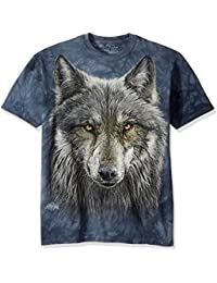 The Mountain Men's Warrior Wolf T-Shirt