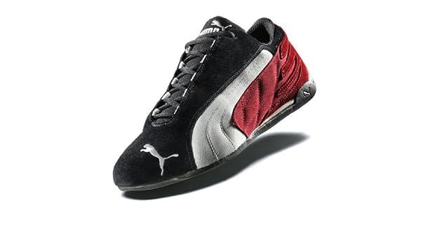 PUMA Schuh Repli Cat Low, Größe 45, schwarzrotweiß: Amazon