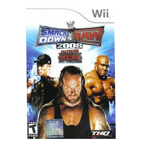 Smack Down Vs Raw 2008 WII