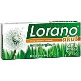 Hexal AG Lorano Akut Boîte de 20 comprimés antihistaminiques