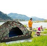 3-4 Personen 200x200x135cm Camping Zelt Familienzelt Kuppelzelt Igluzelt...