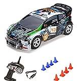 HSP Himoto 1:24 On-Road 2WD Mini RC ferngesteuertes Auto Rally Car, 2.4GHz Digital vollproportionale Steuerung Top-Speed bis zu 25 km/h, Komplett-Set RTR