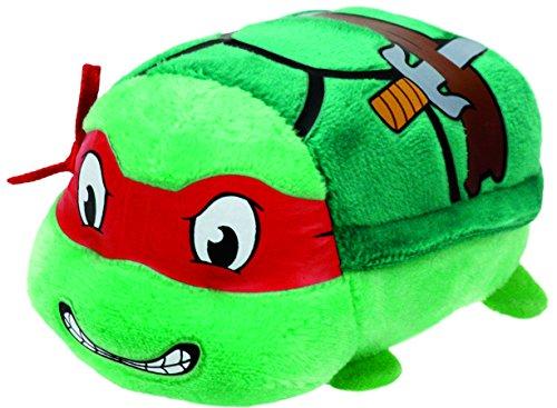 "Image of TY Beanie Baby–ty42171Teeny TYS–Teenage Mutant Ninja Turtles–Raphael–8""Plush"
