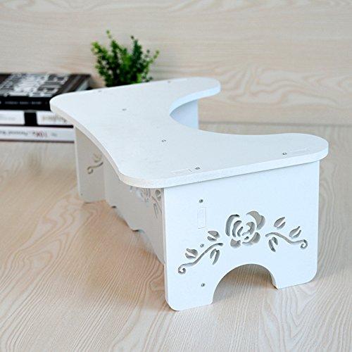 HYP-Ergonomische Toilettenhocker Toilettenhocker ErwachseneWc Badezimmer WC pad Fußbank Erwachsene schwangere Frau?Paddle stool