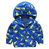 Baby Infant Mädchen Warme Kleidung Dicke Jacke Jungen Dinosaurier Mit Kapuze Zip Mantel Umhang By Dragon