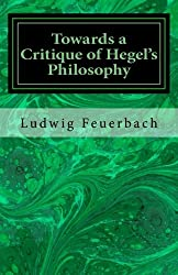 Towards a Critique of Hegel's Philosophy
