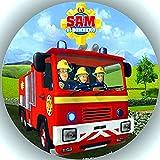 Premium Esspapier Tortenaufleger Feuerwehrmann Sam T15